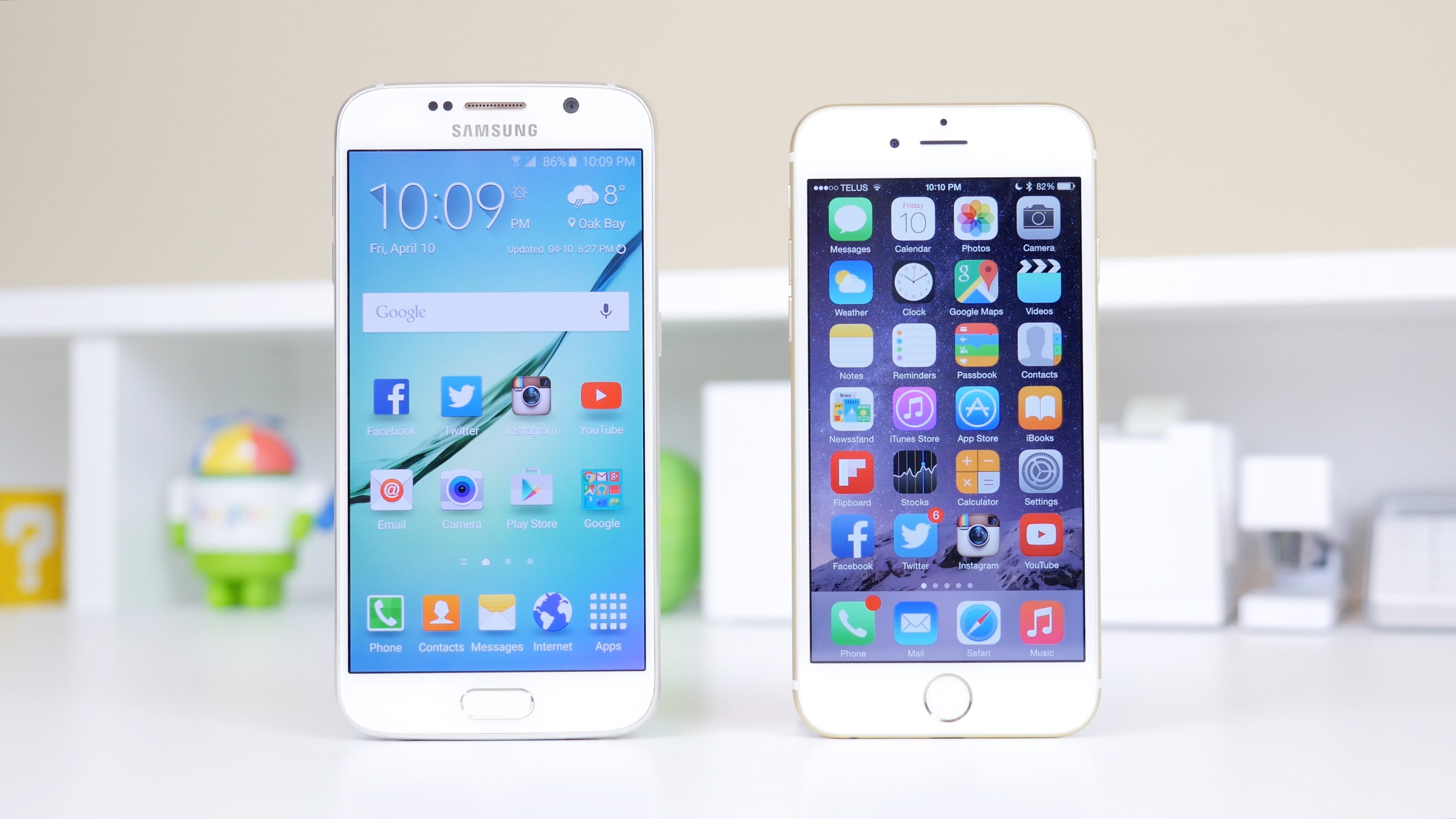 comparison samsung s7 and iphone 7